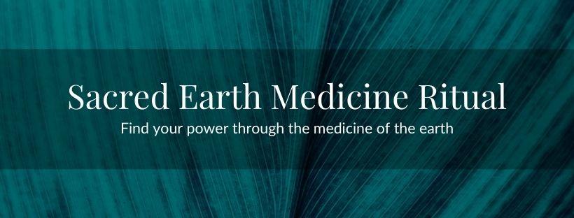Sacred Earth Medicine Ritual Banner